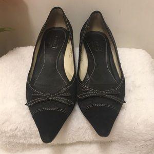 Coach kitten heels size 9.5B